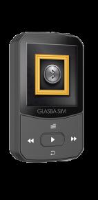 נגן MP3 סאמויקס גלסבה סים
